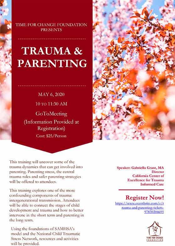 2020 Trauma and Parenting