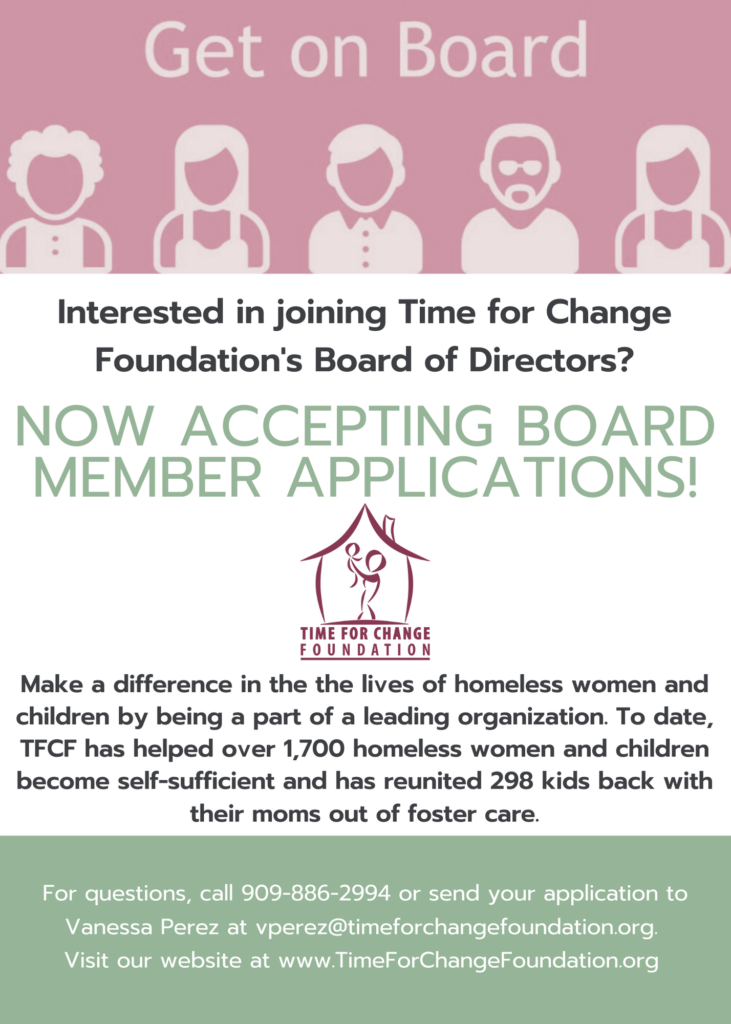 New Board Member Flyer