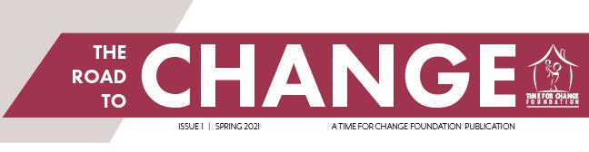 time for change spring newsletter header
