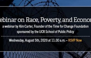 A Webinar on Race, Poverty, and Economics